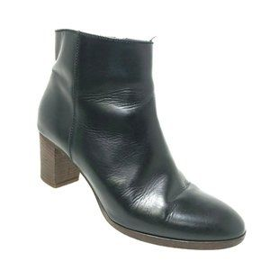 J. Crew Aggie Size 8.5 Boots Ankle Booties Black